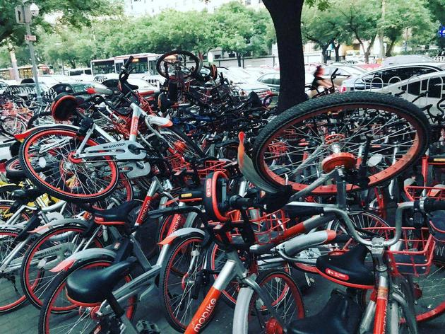 共享单车无序竞争,造成严重的资源浪费,是否该停止共享单车的发展?