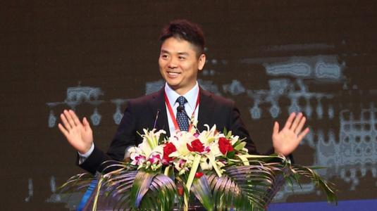 刘强东敢直言营业额要做全球第一